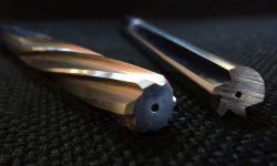 Deux alésoirs pour usiner les matériaux composites